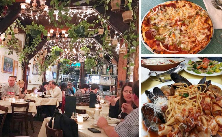 New York Tour Paesanos Restaurant Lunch