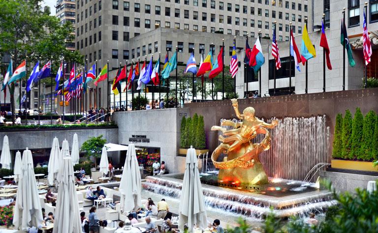 Rockefeller Center New York Tour